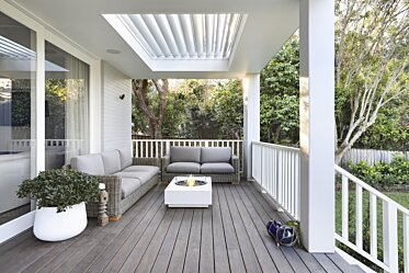 Challis Avenue Turramurra - Outdoor Fireplace Ideas