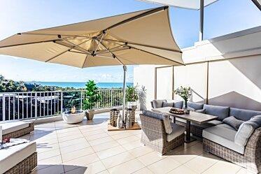 Outdoor Balcony - Outdoor Fireplace Ideas