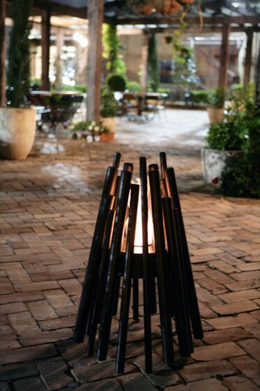 The Grounds Sydney - Commercial Fireplaces