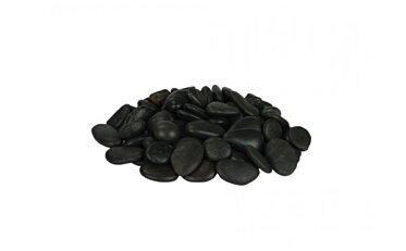 Small Black Stones Parts & Accessorie - Studio Image by EcoSmart Fire