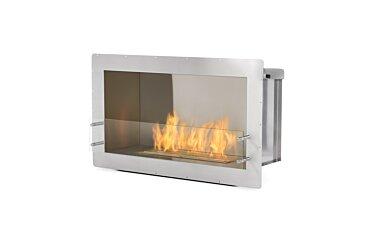 Firebox 1000SS Single Sided Fireplace - Studio Image by EcoSmart Fire