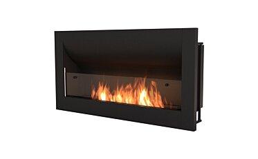 Firebox 1400CV Curved Fireplace - Studio Image by EcoSmart Fire