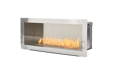 Firebox 1500SS Single Sided Fireplace - Studio Image by EcoSmart Fire