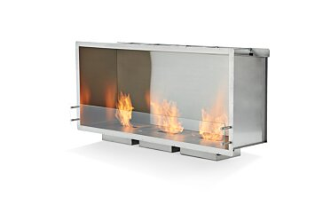 Firebox 1800SS Single Sided Fireplace - Studio Image by EcoSmart Fire
