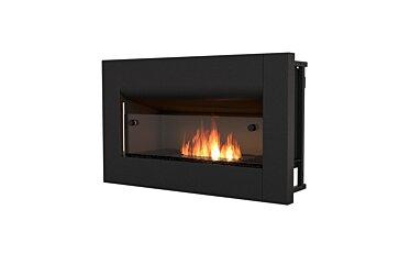 Firebox 650CV Curved Fireplace - Studio Image by EcoSmart Fire