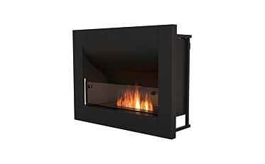 Firebox 720CV Curved Fireplace - Studio Image by EcoSmart Fire