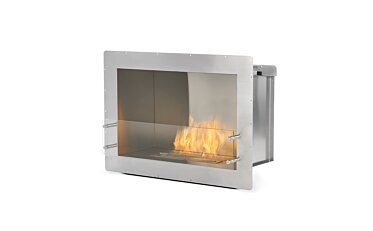 Firebox 800SS Single Sided Fireplace - Studio Image by EcoSmart Fire