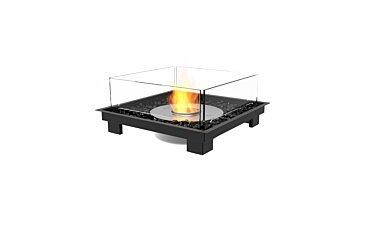 Square 22 Fire Pit Kit - Studio Image by EcoSmart Fire