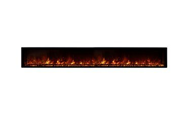 EL100 Wall Mounted Fireplace - Studio Image by EcoSmart Fire