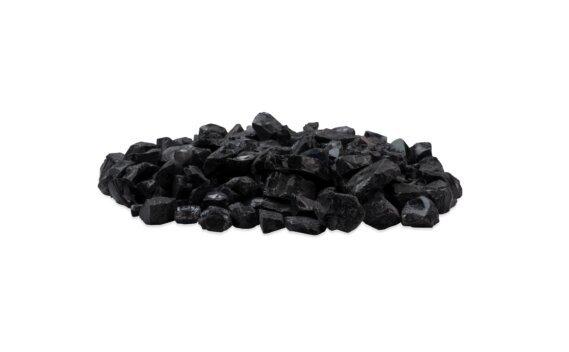 Black Glass Charcoal Decorative Media - Black by EcoSmart Fire