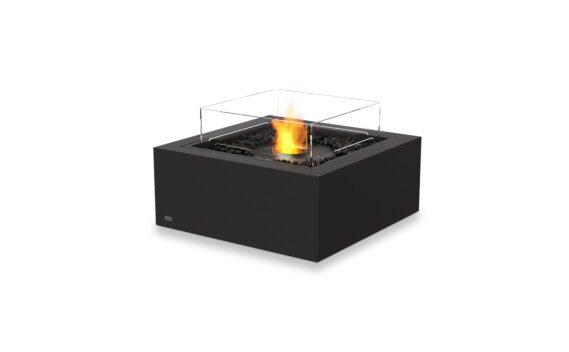 Base 30 Fire Table - Ethanol - Black / Graphite / Optional Fire Screen by EcoSmart Fire