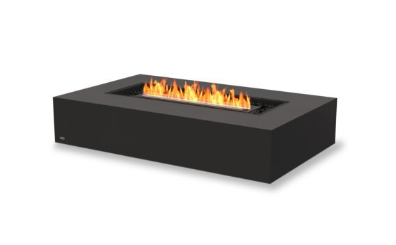 Wharf 65 Fire Table - Ethanol - Black / Graphite by EcoSmart Fire