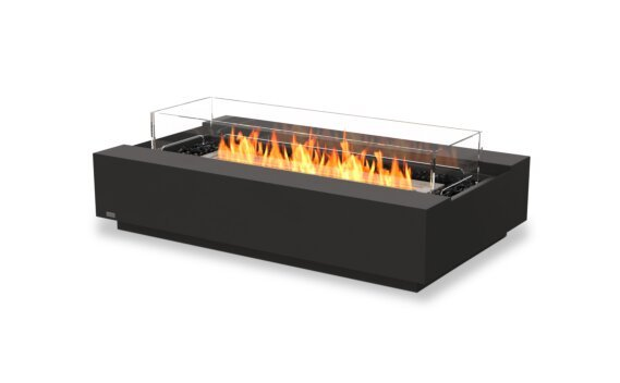 Cosmo 50 Fire Table - Ethanol / Graphite / Optional Fire Screen by EcoSmart Fire