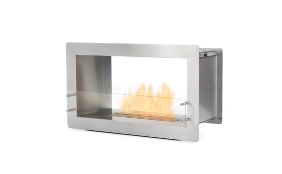 Firebox 1000DB Double Sided Fireplace - Ethanol / Stainless Steel by EcoSmart Fire