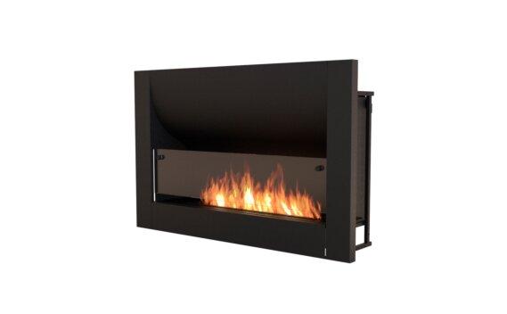 Firebox 1100CV Curved Fireplace - Ethanol / Black by EcoSmart Fire