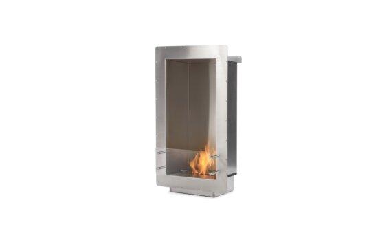 Firebox 450SS Single Sided Fireplace - Ethanol / Stainless Steel by EcoSmart Fire