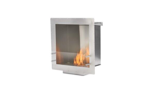 Firebox 650SS Single Sided Fireplace - Ethanol / Stainless Steel by EcoSmart Fire