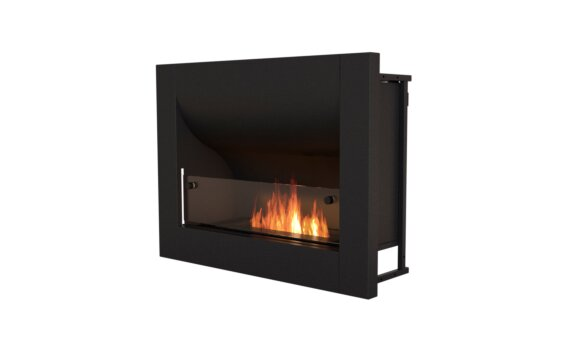Firebox 720CV Curved Fireplace - Ethanol / Black by EcoSmart Fire