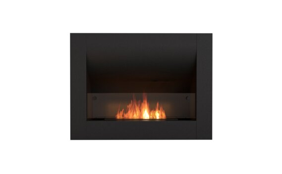 Firebox 720CV Curved Fireplace - Ethanol / Black / Front View by EcoSmart Fire