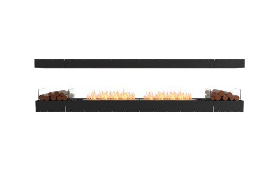Flex 122IL.BX2 Island - Ethanol / Black / Uninstalled View by EcoSmart Fire