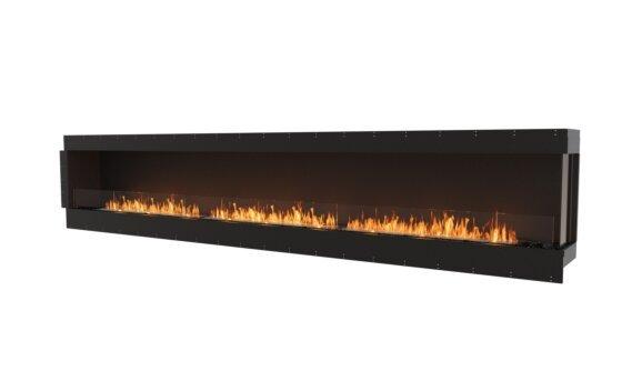 Flex 158RC Right Corner - Ethanol / Black / Uninstalled View by EcoSmart Fire