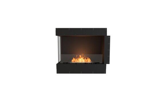 Flex 32LC Left Corner - Ethanol / Black / Uninstalled View by EcoSmart Fire