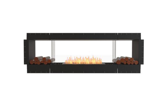Flex 86DB.BX2 Double Sided - Ethanol / Black / Uninstalled View by EcoSmart Fire