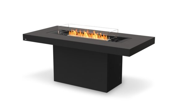 Gin 90 (Bar) Fire Table - Ethanol / Graphite / Optional Fire Screen by EcoSmart Fire