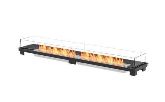 Linear 90 Fire Pit Kit - Ethanol / Black by EcoSmart Fire