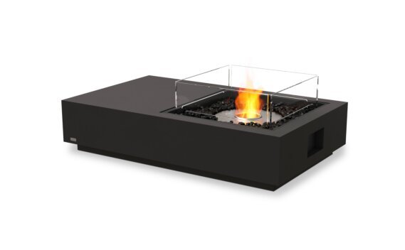 Manhattan 50 Fire Table - Ethanol / Graphite / Optional Fire Screen by EcoSmart Fire