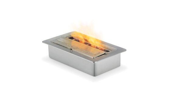 XS340 Ethanol Burner - Ethanol / Stainless Steel by EcoSmart Fire