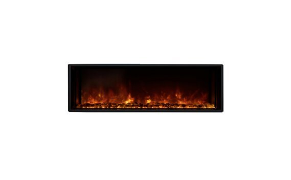 EL40 Electric Fireplace - Electric / Black by EcoSmart Fire