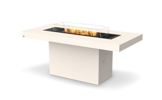Gin 90 (Bar) Fire Table - Gas LP/NG / Bone by EcoSmart Fire