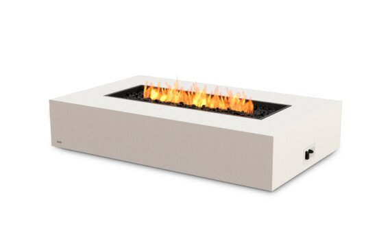 Wharf Fire Table - Gas LP/NG / Bone by EcoSmart Fire