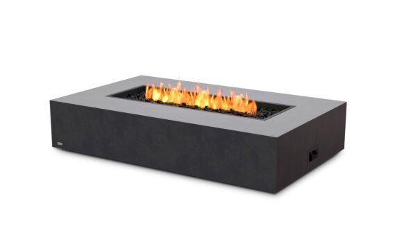 Wharf Fire Table - Gas LP/NG / Graphite by EcoSmart Fire