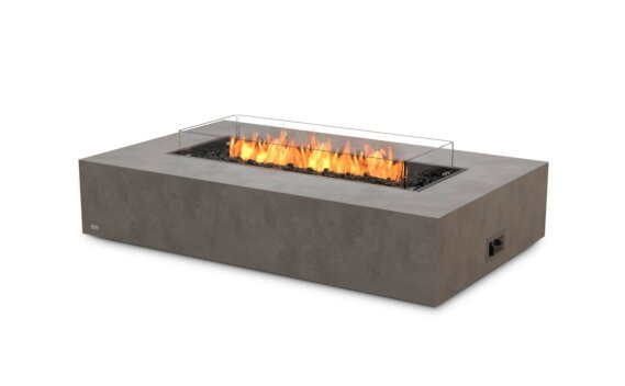 Wharf Fire Table - Gas LP/NG / Natural / Optional Fire Screen by EcoSmart Fire