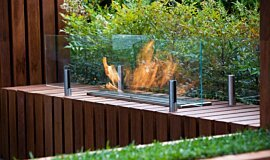 Melbourne International Flower and Garden Show Commercial Fireplaces Ethanol Burner Idea