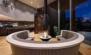 AB3 Indoor Fireplace - In-Situ Image by EcoSmart Fire