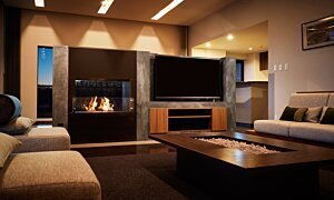 Firebox 800DB Fireplace Insert - In-Situ Image by EcoSmart Fire