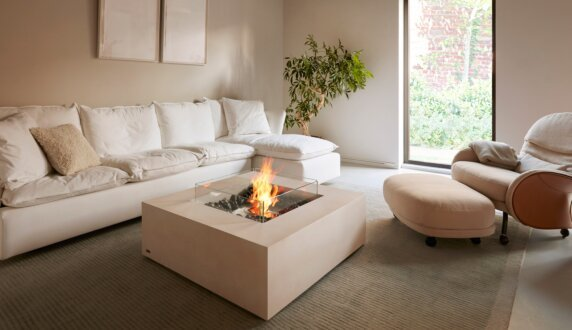 Private Residence - Base 30 Fire Table by EcoSmart Fire