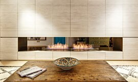 Fujiya Mansions Linear Fires Ethanol Burner Idea