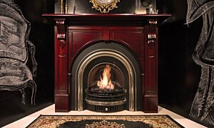VB2 Wall Mounted Fireplace - In-Situ Image by EcoSmart Fire