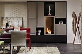 Firebox 450SS Single Sided Fireplace - In-Situ Image by EcoSmart Fire