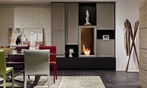 Firebox 450SS Fireplace Insert - In-Situ Image by EcoSmart Fire
