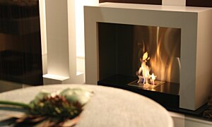 Oxygen Designer Fireplace - In-Situ Image by EcoSmart Fire