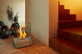 Mini T Indoor Fireplace - In-Situ Image by EcoSmart Fire