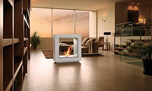 Fusion Designer Fireplace - In-Situ Image by EcoSmart Fire