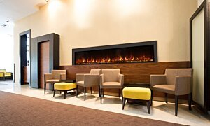 EL120 Wall Mounted Fireplace - In-Situ Image by EcoSmart Fire
