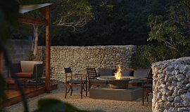 Okinawa Resort Commercial Fireplaces Fire Pit Idea