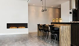 Kitchen Area Fireplace Inserts Flex Fireplace Idea